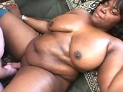 Appetizing ebony fatty takes a ride black fat xxx