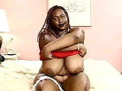 Ebony fatty is ready for everything black fat xxx