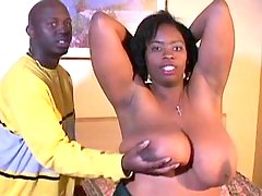 Bombshell ebony fatty takes up cock black fat xxx