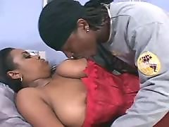 Black BBW angel takes up huge hummer black fat xxx