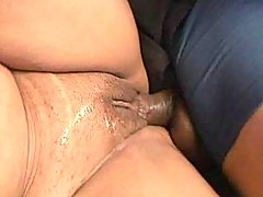 Fast and sweaty sex with fat cutie