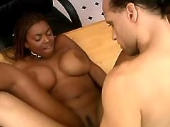 Fat black babe gets massive nailing black fat xxx