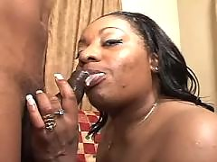 This ebony fatty knows how to handle cock black fat xxx