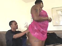 Sex addicted black fatty gets off in bed black fat xxx