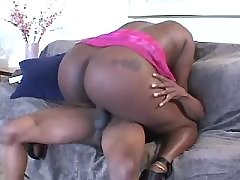 Appetizing black fatty goes naughty black fat xxx