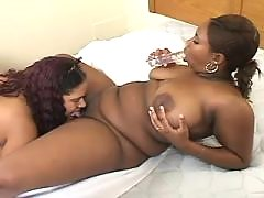 Fat black vixen gets nailed heavily