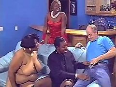 Ebony plumper sucks with big ass black huge cock black fat xxx