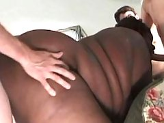 Flabby mature fucked and gets cum in bathroom